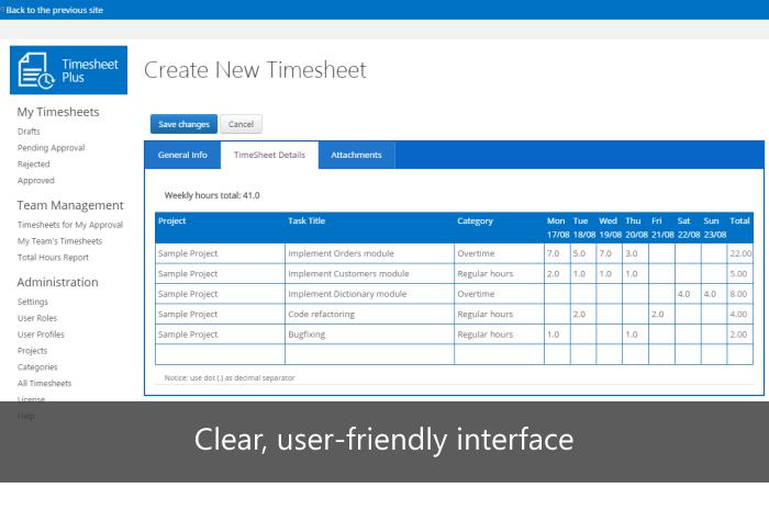 IVERO NET - Timesheet Software